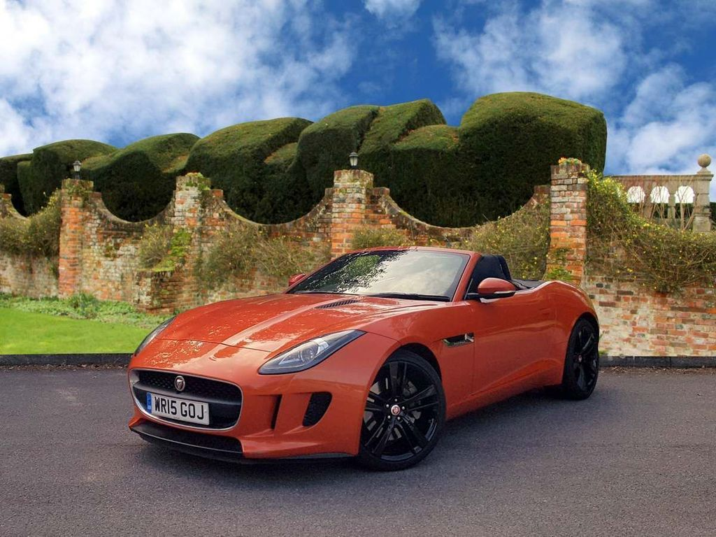 JAGUAR F-TYPE Convertible 3.0 V6 Quickshift 2dr