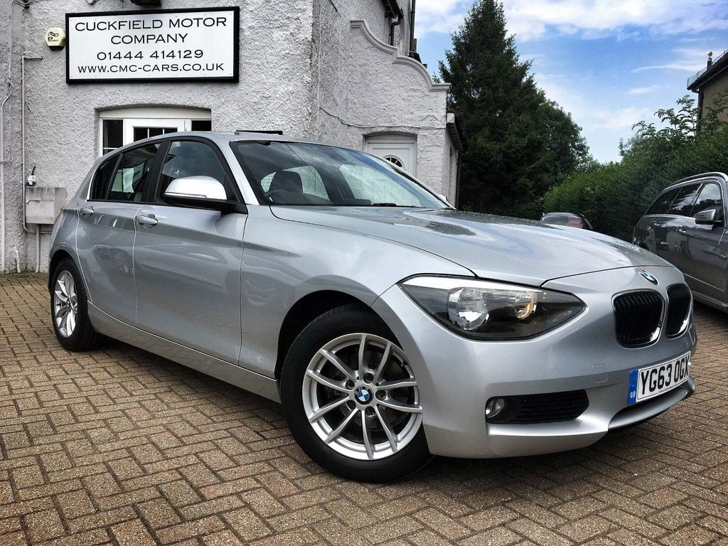 BMW 1 SERIES Hatchback 1.6 116d EfficientDynamics Sports Hatch (s/s) 5dr