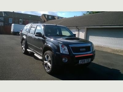ISUZU RODEO Pickup 3.0 CRD LE Sport Limited Edition Crewcab Pickup 4dr