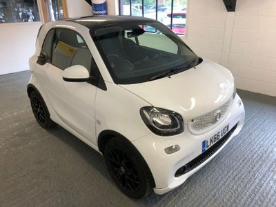 SMART FORTWO Coupe 1.0 Edition White Twinamic (s/s) 2dr