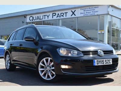 VOLKSWAGEN GOLF Estate 2.0 TDI BlueMotion Tech GT DSG (s/s) 5dr