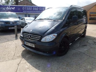 MERCEDES-BENZ VITO Other 3.0 120CDI Sport X Compact Panel Van 5dr