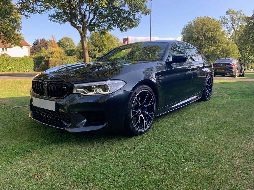 BMW M5 Saloon 4.4 V8 Competition Steptronic xDrive (s/s) 4dr