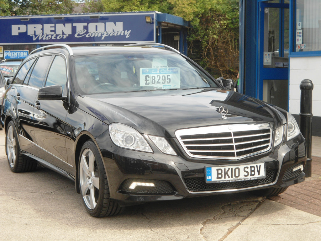 MERCEDES-BENZ E CLASS Estate 2.1 E250 TD CDI BlueEFFICIENCY Avantgarde 5dr