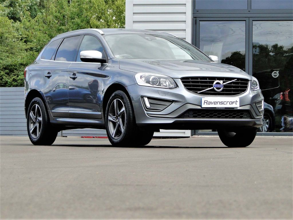 VOLVO XC60 SUV 2.4 D4 R-Design Lux AWD 5dr