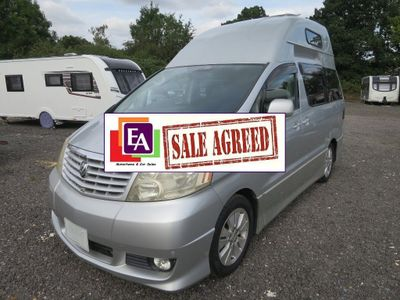 Toyota Alphard High Top Campervan