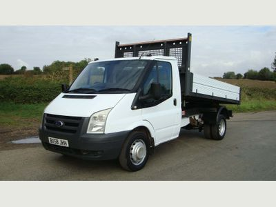 FORD TRANSIT Tipper T350 MWB ONE STOP ALLOY TIPPER