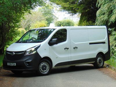 VAUXHALL VIVARO Temperature Controlled 1.6 CDTi 2900 L2H1 Refrigerated Van 5dr