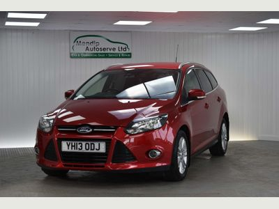 FORD FOCUS Estate 1.6 TDCi ECOnetic Titanium 5dr
