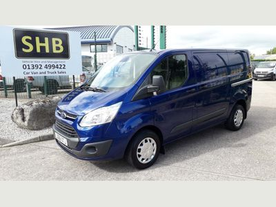 FORD TRANSIT CUSTOM Panel Van 2.0 TDCi 290 L2H1 Trend Panel Van 5dr (EU6)