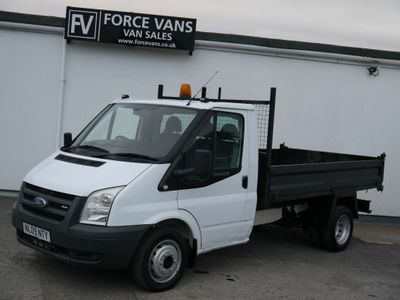 FORD TRANSIT Tipper STEEL DROP SIDE TIPPING TIPPER TRUCK