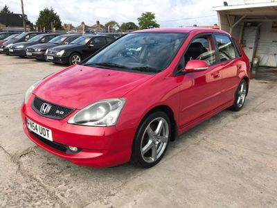 HONDA CIVIC Hatchback 2.0 i-VTEC Type S 5dr (VSA)