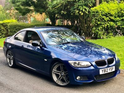 BMW 3 SERIES Coupe 2.0 320d M Sport 2dr