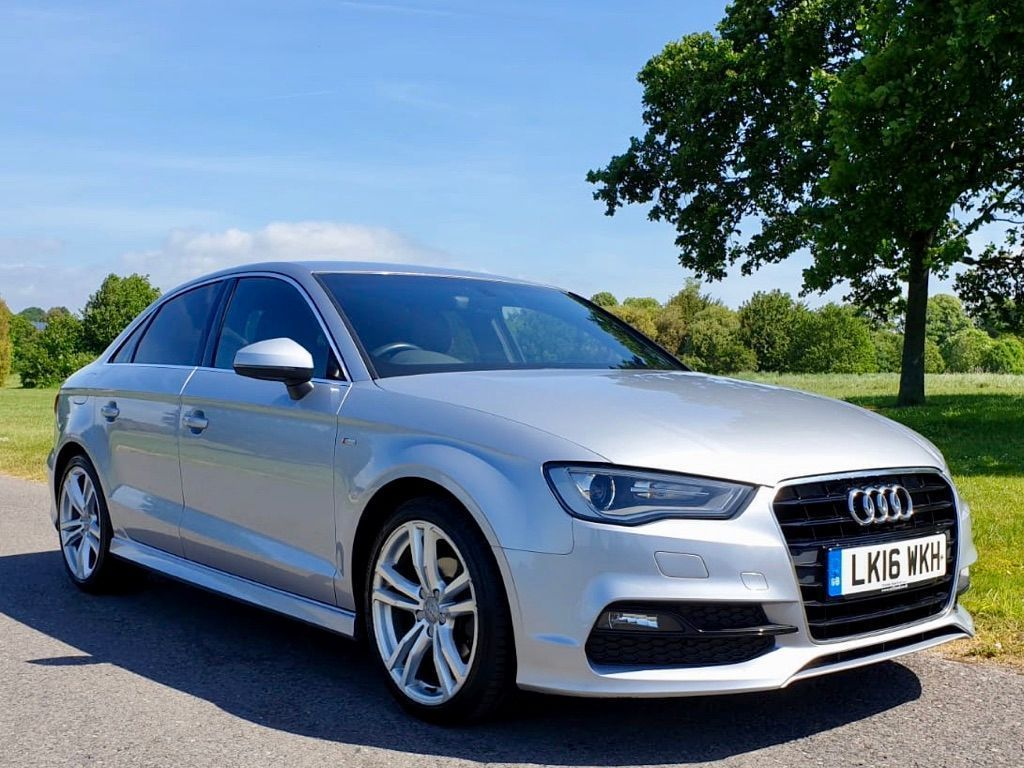 AUDI A3 Saloon 1.6 TDI S line S Tronic (s/s) 4dr (Nav)