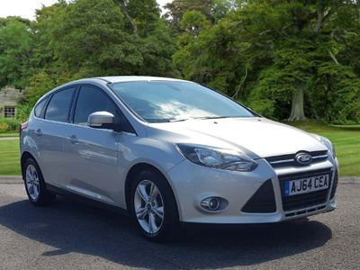 FORD FOCUS Hatchback 1.6 TDCi ECOnetic Zetec (s/s) 5dr