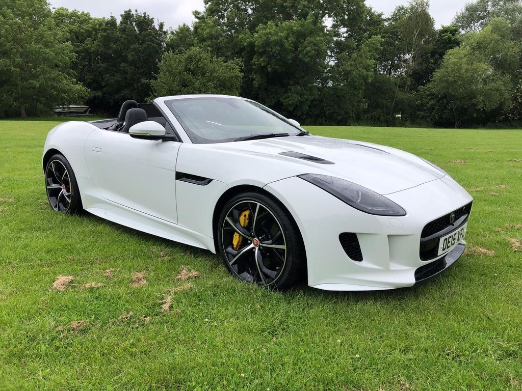 JAGUAR F-TYPE Convertible 5.0 V8 R Quickshift (AWD) 2dr