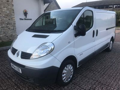 RENAULT TRAFIC Other 2.0 dCi LL29 Low Roof Van 3dr (EU5)