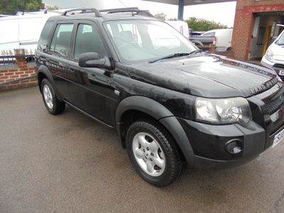 LAND ROVER FREELANDER SUV 2.0 TD4 Adventurer 5dr