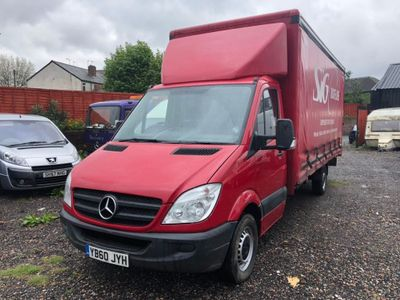 MERCEDES-BENZ SPRINTER Chassis Cab 2.1 CDI 311 Curtainsider 4dr (LWB)