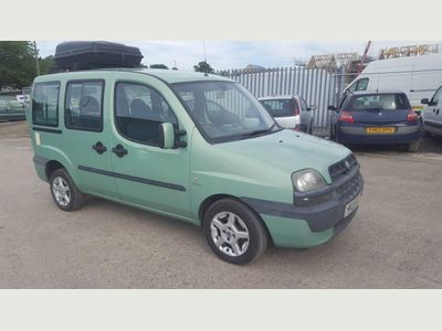 FIAT DOBLO Estate 1.2 MPI Dynamic 5dr