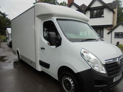 VAUXHALL MOVANO Luton FT35L3HICDTI LOW LODER