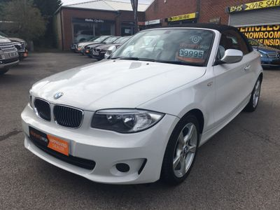 BMW 1 SERIES Convertible 2.0 118i Exclusive Edition 2dr