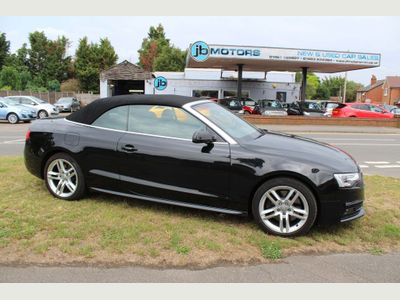 AUDI A5 CABRIOLET Convertible 3.0 TDI S line Cabriolet S Tronic quattro (s/s) 2dr