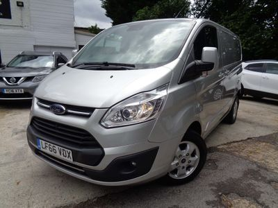 FORD TRANSIT CUSTOM Other 2.0 TDCi 290 L2H1 Limited Panel Van 5dr (EU6)