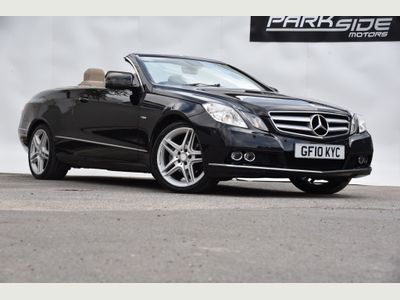 MERCEDES-BENZ E CLASS Convertible 1.8 E200 CGI BlueEFFICIENCY SE Cabriolet 2dr