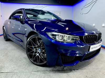 BMW M4 Convertible 3.0 BiTurbo Competition Pack DCT (s/s) 2dr