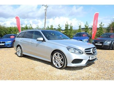 MERCEDES-BENZ E CLASS Estate 3.0 E350 CDI BlueTEC AMG Line (Premium) 9G-Tronic Plus 5dr