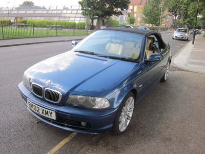 BMW 3 SERIES Convertible 2.2 320Ci 2dr