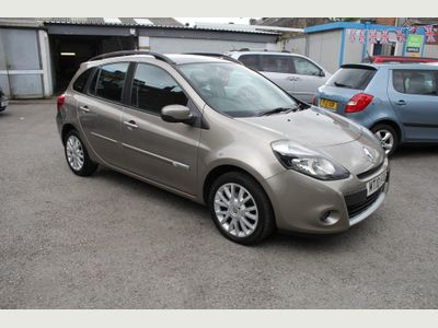 RENAULT CLIO Estate 1.5 dCi FAP Dynamique Sport Tourer 5dr (Tom Tom)
