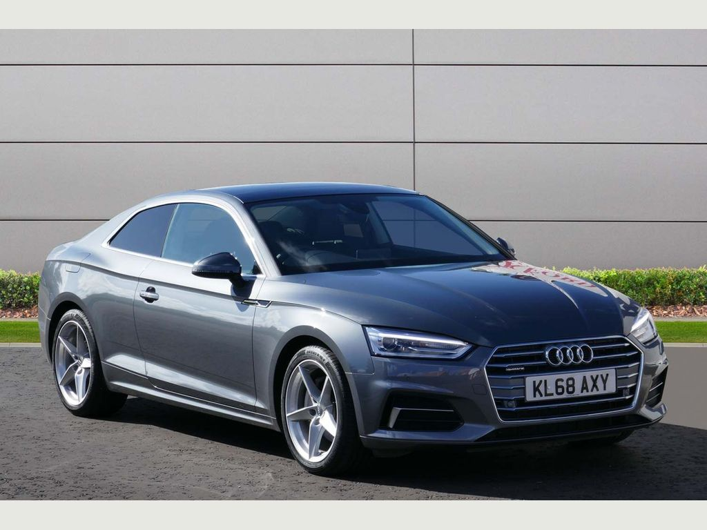 Used Audi A5 Coupe 2 0 Tdi 40 Sport S Tronic Quattro (S/s