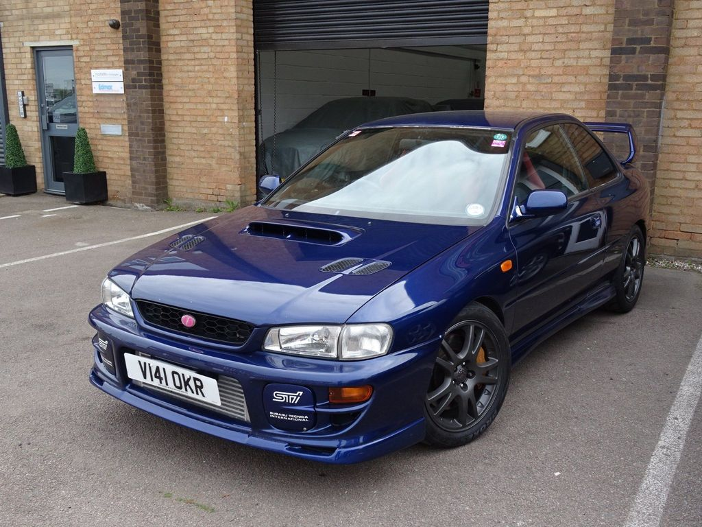 SUBARU IMPREZA Coupe JDM WRX STI Type R Version 6, 410bhp