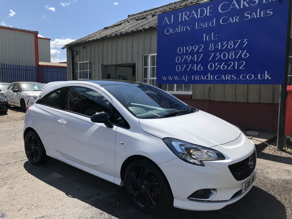 VAUXHALL CORSA Hatchback 1.0 i Turbo ecoFLEX Limited Edition (s/s) 3dr
