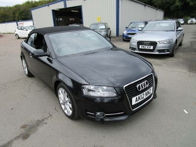 AUDI A3 CABRIOLET Convertible 2.0 TDI Sport S Tronic 2dr