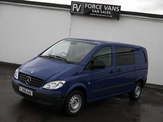 Used MERCEDES BENZ Vans for sale in Didcot, Oxfordshire | Force Vans