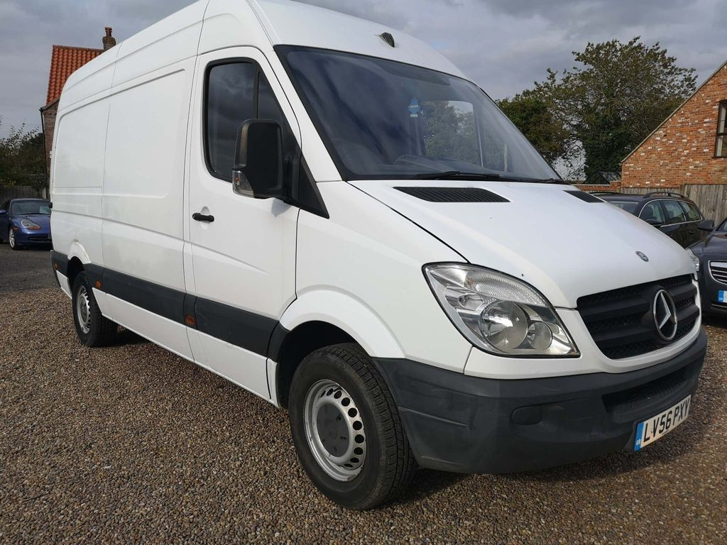 MERCEDES-BENZ SPRINTER Tipper 2.1 CDI 311 High Roof Panel Van 5dr MWB
