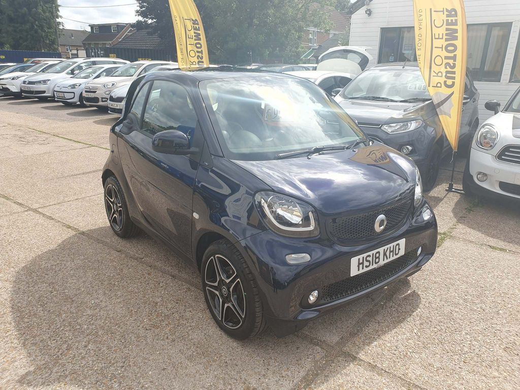 SMART FORTWO Coupe 0.9T Edition Blue Twinamic (s/s) 2dr