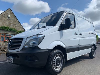 MERCEDES-BENZ SPRINTER Panel Van 2.1 CDI 214 Panel Van 5dr (EU6, SWB)