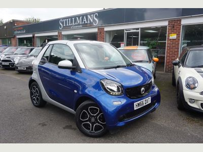 SMART FORTWO Convertible 1.0 Prime (Premium) Cabriolet Twinamic (s/s) 2dr