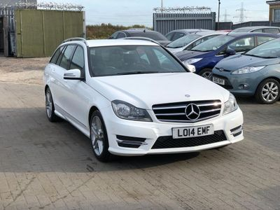 MERCEDES-BENZ C CLASS Estate 2.1 C250 CDI AMG Sport Edition 7G-Tronic Plus 5dr
