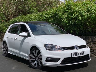VOLKSWAGEN GOLF Hatchback 2.0 TDI BlueMotion Tech R-Line Hatchback (s/s) 5dr