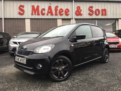 SKODA CITIGO Hatchback 1.0 MPI Black Edition 5dr