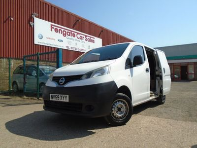 NISSAN NV200 Panel Van 1.5 dCi SE Panel Van 5dr Diesel Manual (137 g/km, 85 bhp)