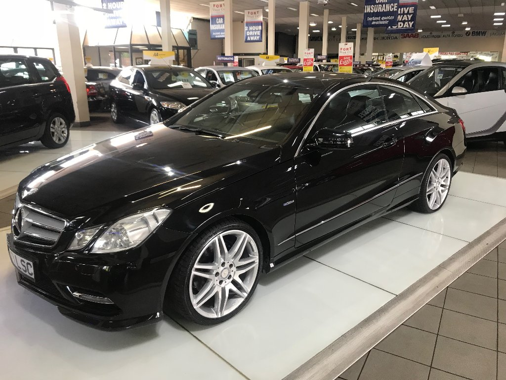 MERCEDES-BENZ E CLASS Coupe 2.1 E250 CDI BlueEFFICIENCY Sport 7G-Tronic 2dr