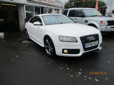 AUDI A5 Coupe 2.0 TFSI S line Special Edition quattro 2dr