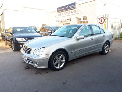 MERCEDES-BENZ C CLASS Saloon 1.8 C200 Kompressor Avantgarde SE 4dr