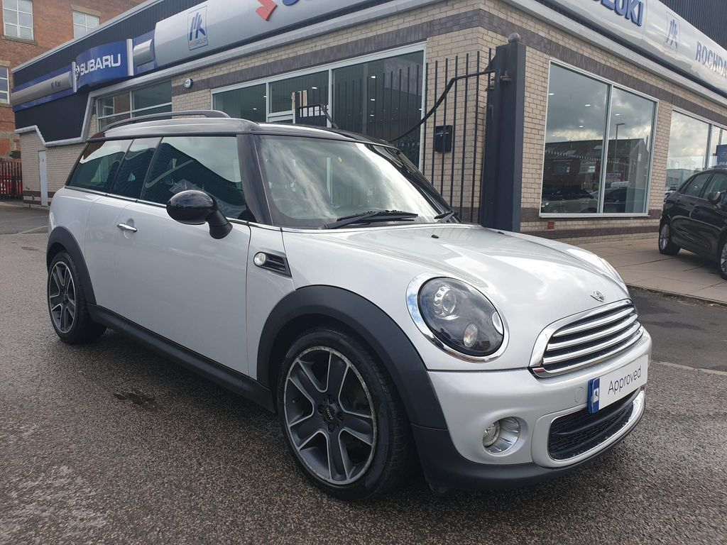 Used Mini Clubman Estate 16 One D Soho 5dr In Rochdale Greater